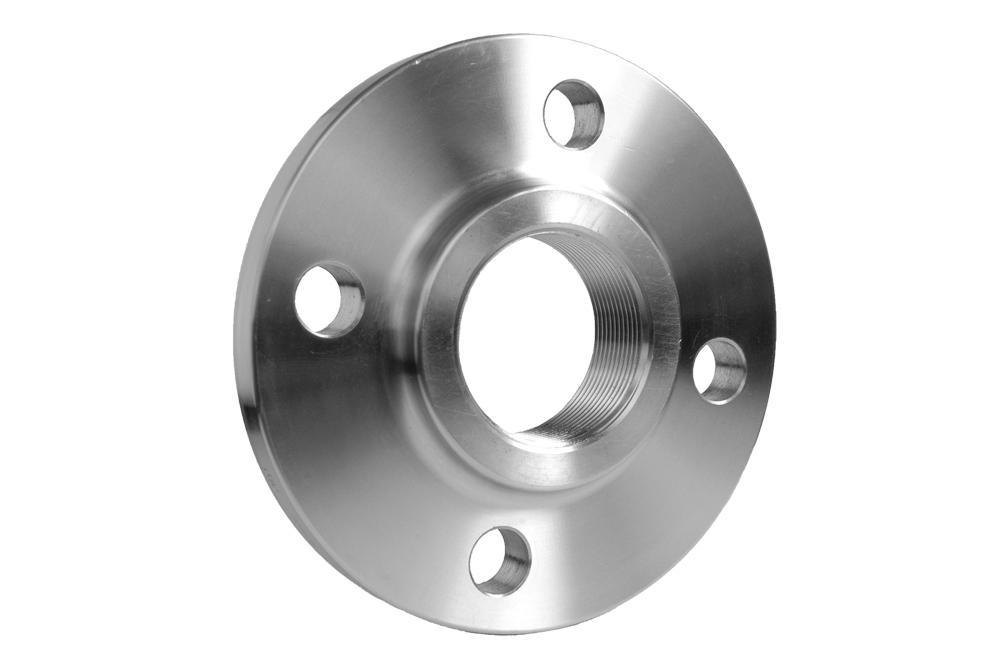 Steel S235 Threaded flange 150 lbs/4 holes NPT ANSI DN25/1